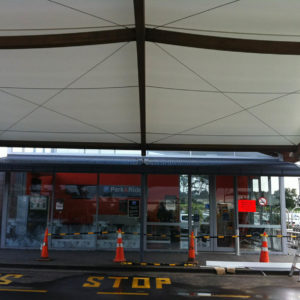 AIA PARK N RIDE Timber Structure